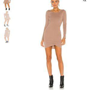 NWT BOBI Long Sleeve Bodcon Dress sz S